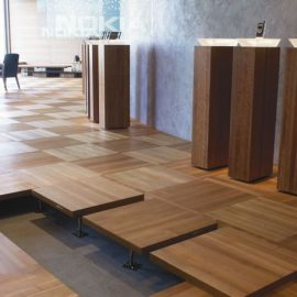 Näyttävä moduuliset lattiat